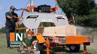 Norwood LumberMate LM29 Portable Band Sawmill - Productive. Reliable. Affordable.