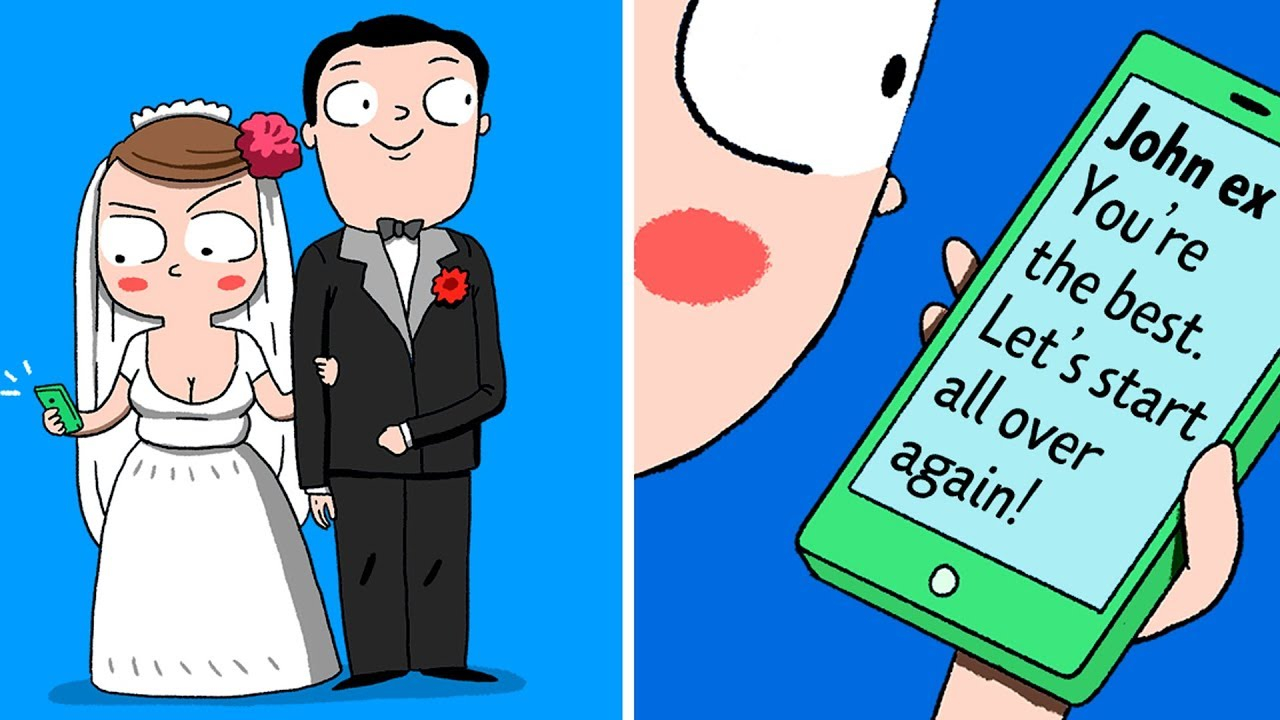 11 Ironic But Honest Comics About Exes