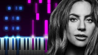 Look what I found - Lady Gaga - EASY Piano Tutorial (Chords) Video