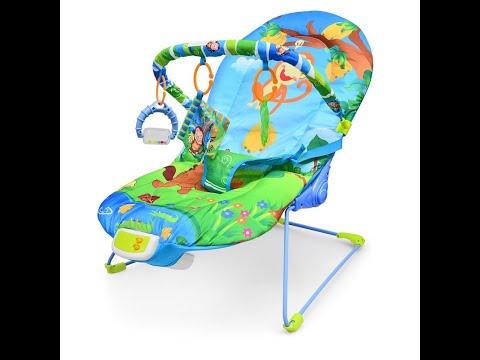 Детский шезлонг (качалка для малыша,укачивающее кресло)