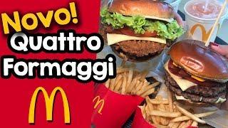 Qu4tro Formaggi e Club House Chicken - Novos sanduíches da linha Signature do McDonald's
