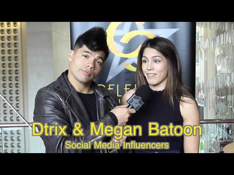 Celebrity Connected Dtrix and Megan Batoon Interview Honoring the MTV Movie Awards®