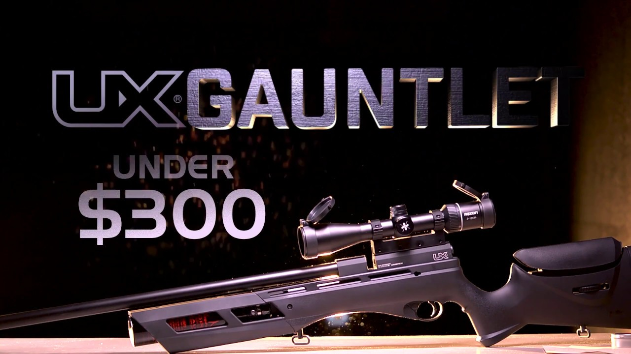 The All New Umarex Gauntlet PCP Air Rifle