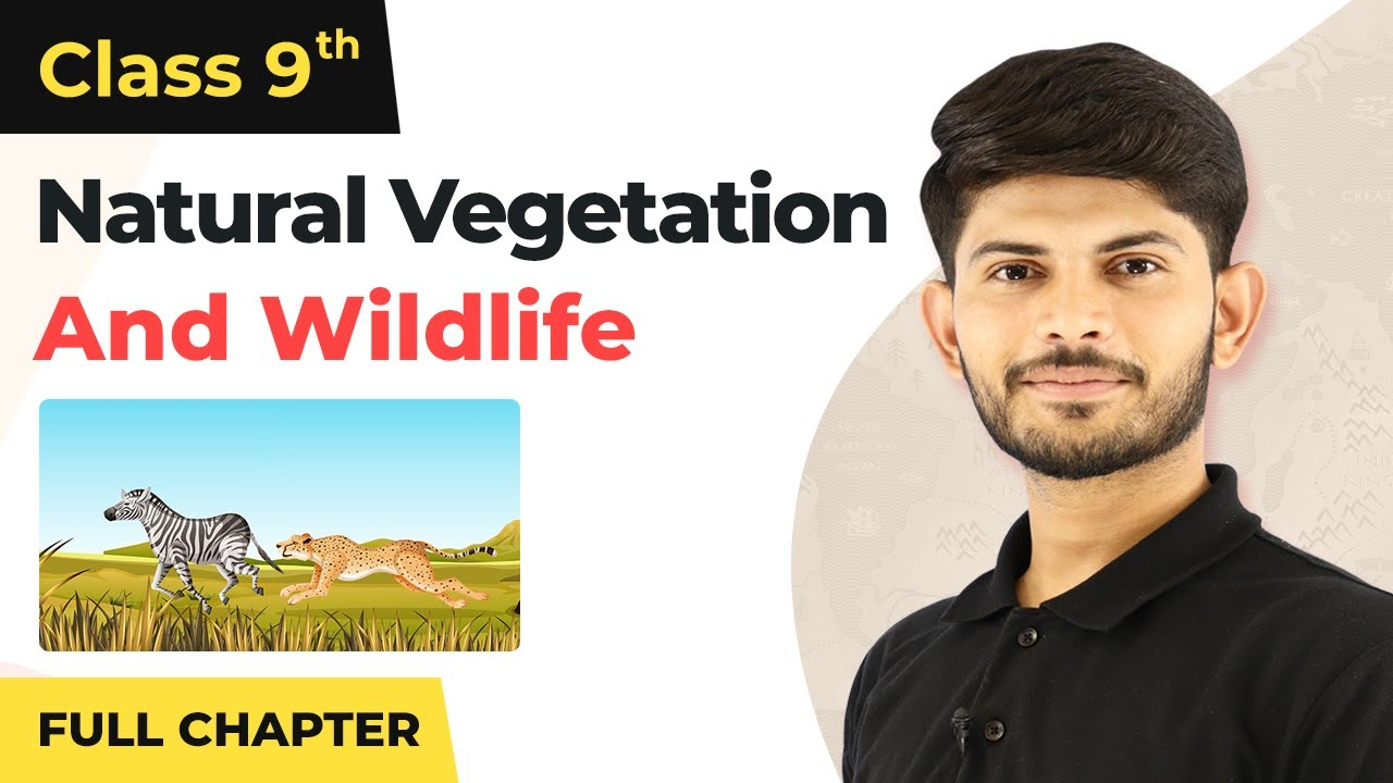 Natural Vegetation and Wildlife Full Chapter Class 9   CBSE Class 9 Geography Chapter 5