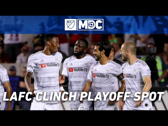 Vela Goal Helps Record Breaking LAFC Clinch MLS Playoff Spot