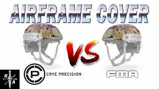 FMA Airframe Helmet Cover VS CRYE // Best Repro Helmet Cover for 15$