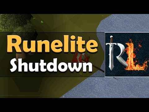 Runelite Ordered To Shutdown