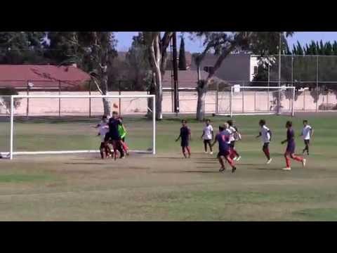 CDA Slammers (1) v San Diego Soccer Club B2003 Academy Navy (3) - 10-02-2016