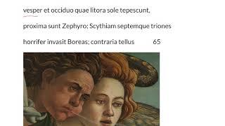 LatinPerDiem Latin Lessons: Publius Ovidius Naso, Metamorphoseon Liber Primus, 16