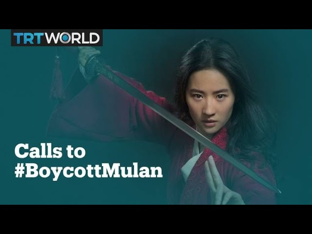 'Mulan' star under fire for supporting Hong Kong police
