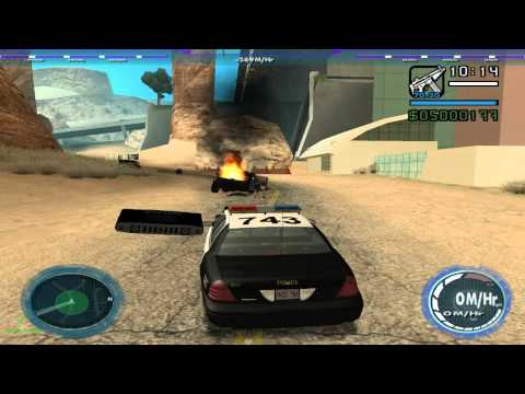 GTA: San Andreas - Shadow Rider Reloaded mod: K.I.3.T transformations