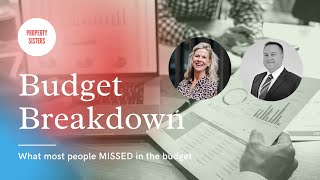 Budget FREEZES - what most people  MISSED in the Budget