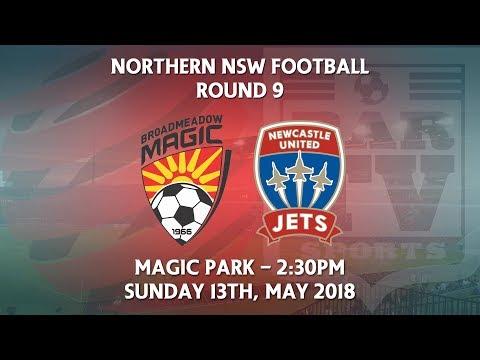 2018 NNSWF NPL Round 9 - Broadmeadow Magic v Newcastle Jets Academy