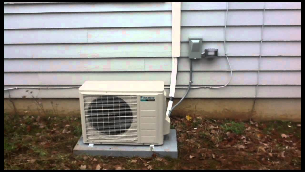 Daikin Rxs12 And Ftxs12 Ductless Mini Split Heat Pump