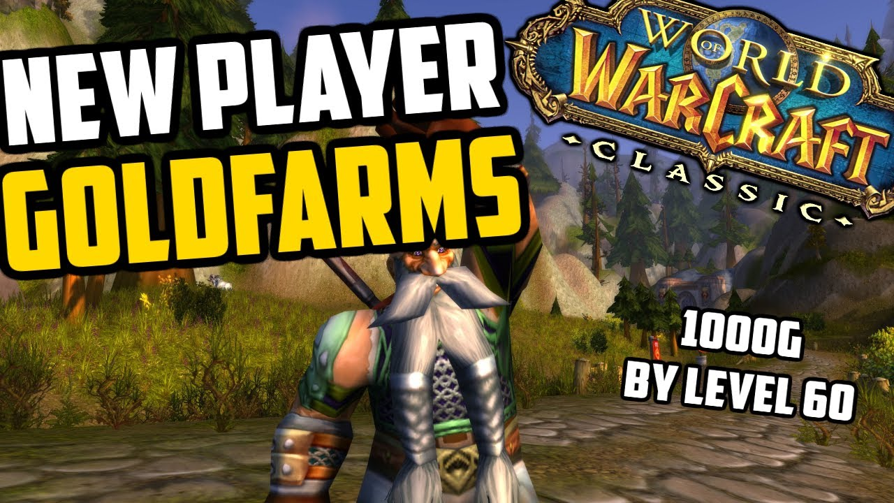 New Player Goldfarms - Make Gold While Leveling (1000g+ by level 60!) - WoW TBC Preparation