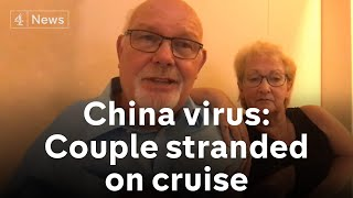 Coronavirus outbreak: British couple describe life on quarantined cruise ship