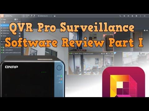 QVR Pro Surveillance Software Review Part 1