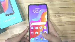 Huawei Hnor 8A Unboxing