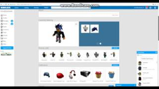 My profile in Roblox. Moj profil w Robloxie