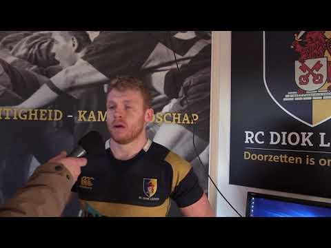 Interview: Ben Woods | DIOK vs The Bassets | 17 februari