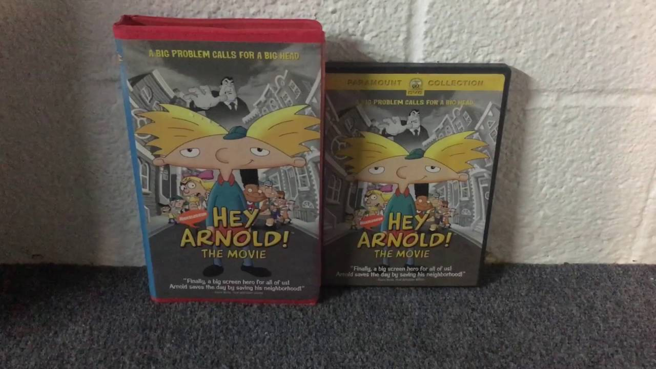 Two Different Versions of Hey Arnold! The Movie VHS and ...