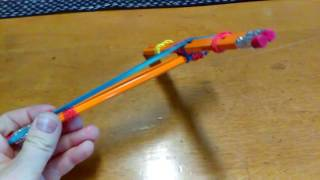 How to make a pencil crossbow!!