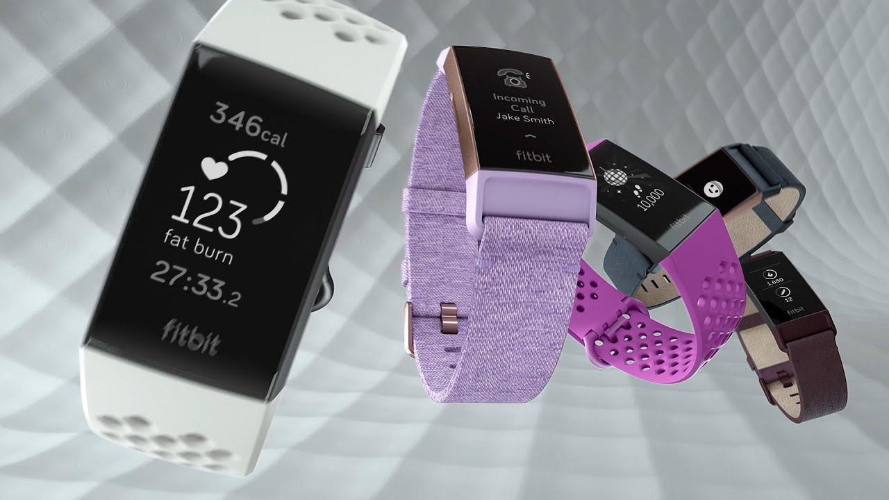 Fitbit Charge 3 (Black/Graphite Aluminium)