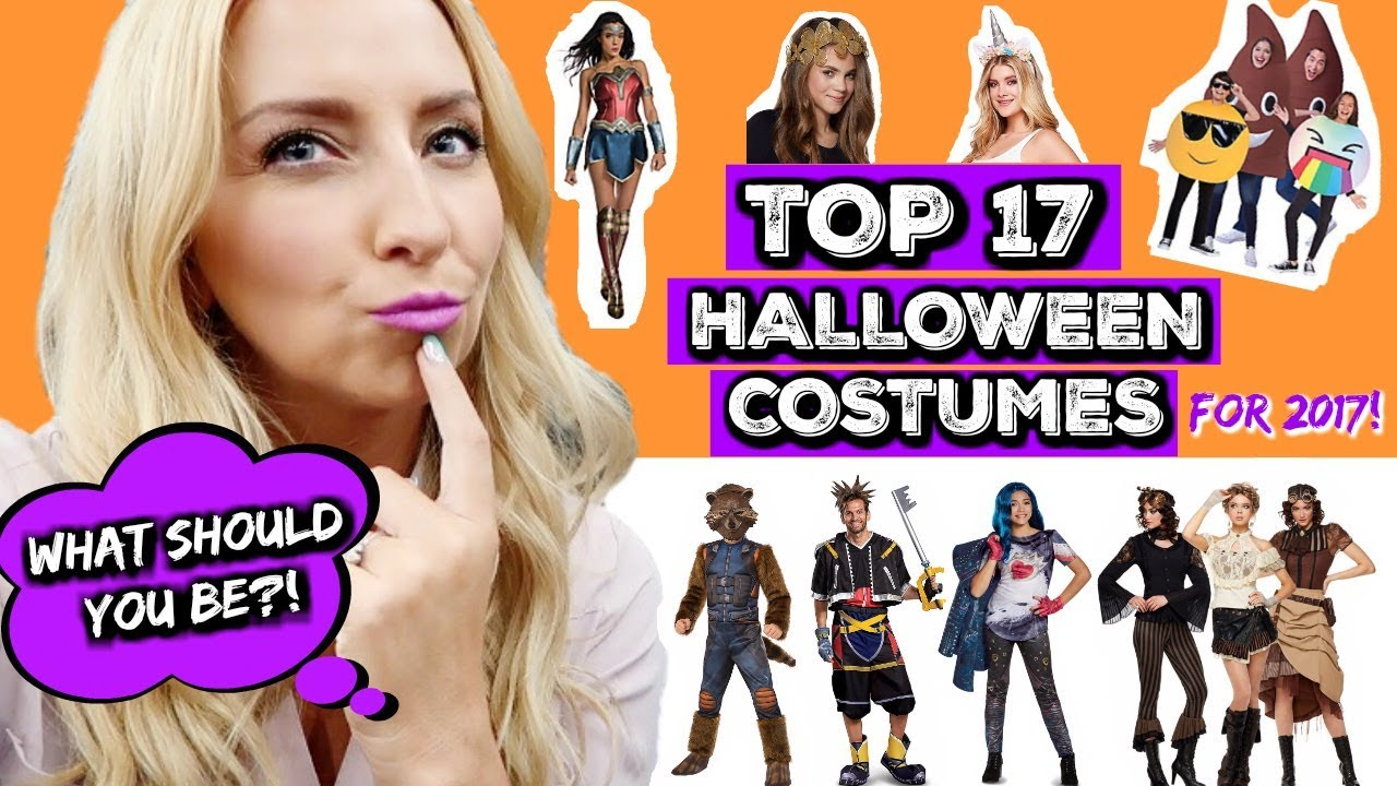 TOP 17 *NEW* Halloween Costume Ideas for 2017 (Kids, Teens ...