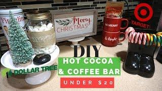 DIY HOT COCOA & COFFEE BAR UNDER $20
