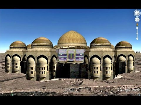 HISTORICAL PLACES OF IRAQ IN GOOGLE EARTH  PART  THREE ( 3/4 )