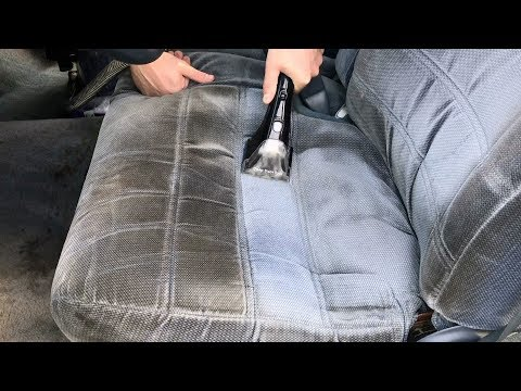 You WILL NOT BELIEVE How EASY It Was To Clean These Car Seats