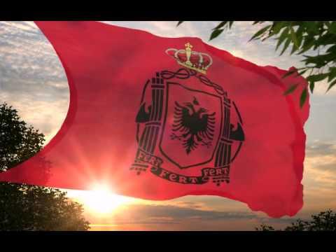 Albanian Kingdom Army Flag - Hymn