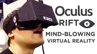 Oculus Rift Eyes-On: The Mind-Blowing Future of VR Gaming at 2013 CES