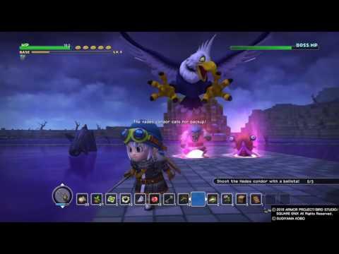 Download Youtube: DRAGON QUEST BUILDERS Hades Condor easy kill boss 2