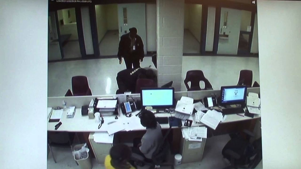 Use-of-force incident at the Chatham County jail in January 2015