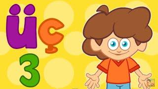 Ü Harfi - ABC Alfabe SEViMLi DOSTLAR Eğitici Çizgi Film Çocuk Şarkıları Videoları