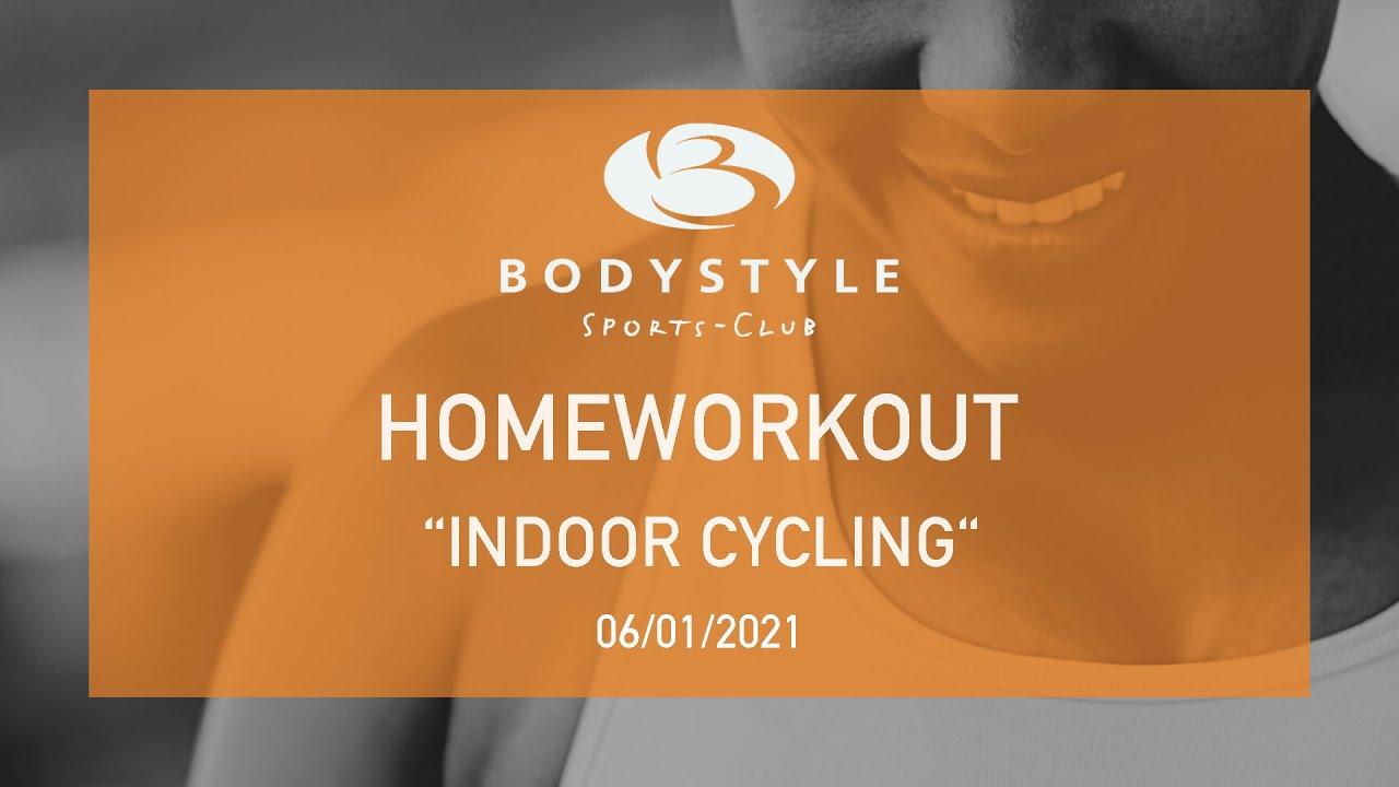 Ein neues Homeworkout Video mit Kathrin ist online! Indoor Cycling für zuhause.