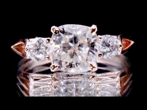 Как БЫСТРО отличить бриллиант от муассанита