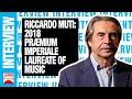 2018 Præmium Imperiale Laureate - Riccardo Muti, Music | JAPAN Forward