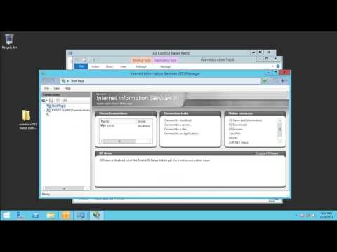 Installing Exchange Server 2010 SP3 And Update Rollup 5 Windows Server 2012 R2 Video