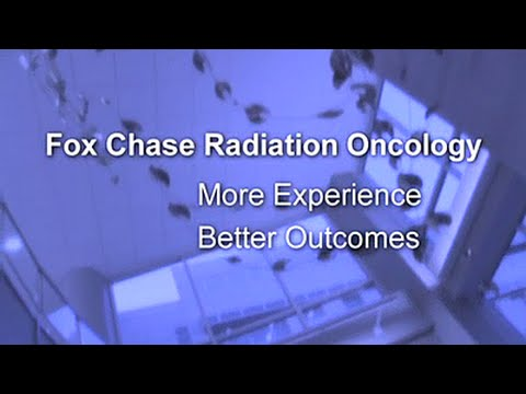 The Department of Radiation Oncology | Fox Chase Cancer