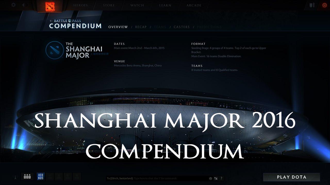 Dota Shanghai Major