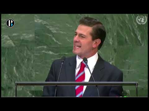 Enrique Peña Nieto se despide de ONU