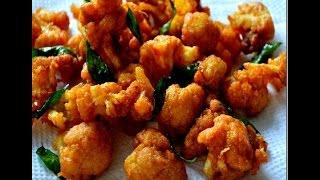 Simple Bachelor's Nutrious Crispy Cauliflower / Gobi Fry - South Indian Recipe By Jai Padhu