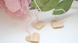 Make Cute Popsicle Stick Heart Decorations - Diy Home - Guidecentral
