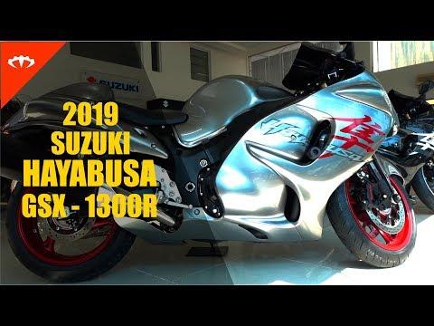 2019 Suzuki Hayabusa GSX-1300R - first look | IAMABIKER - YouTube
