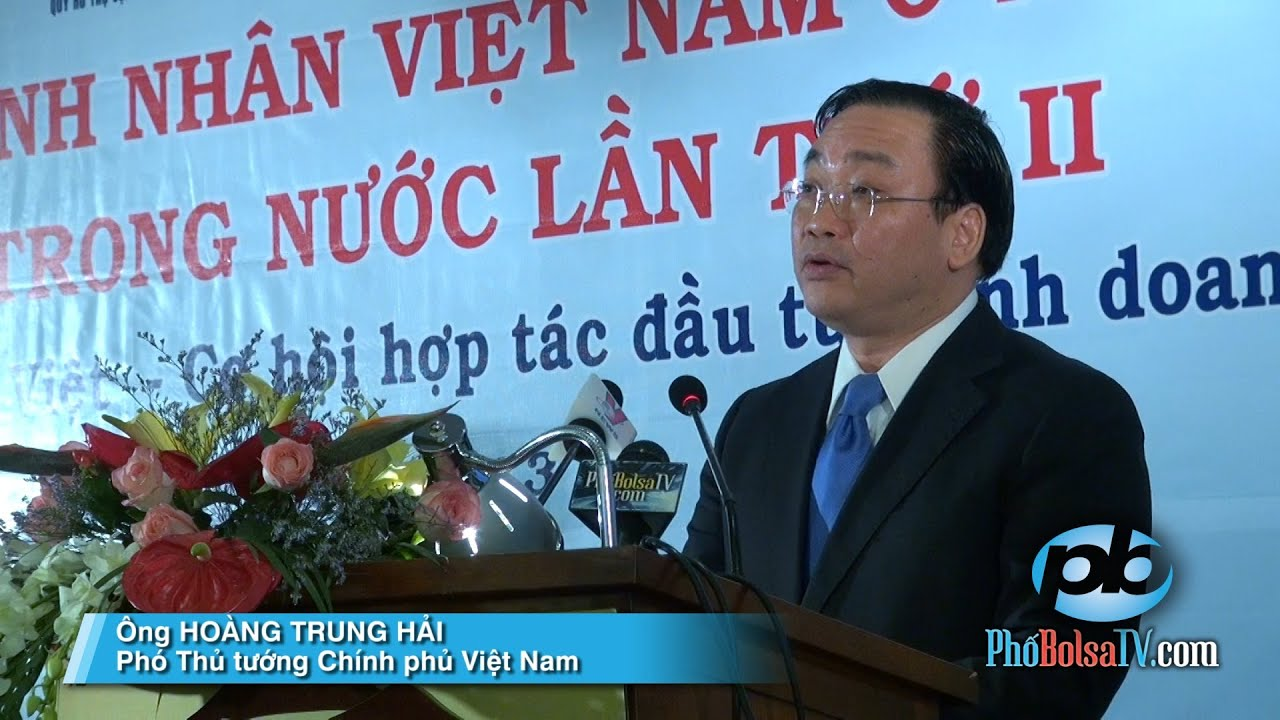 Phát biểu của Phó Thủ tướng Chính phủ Việt Nam Hoàng Trung Hải