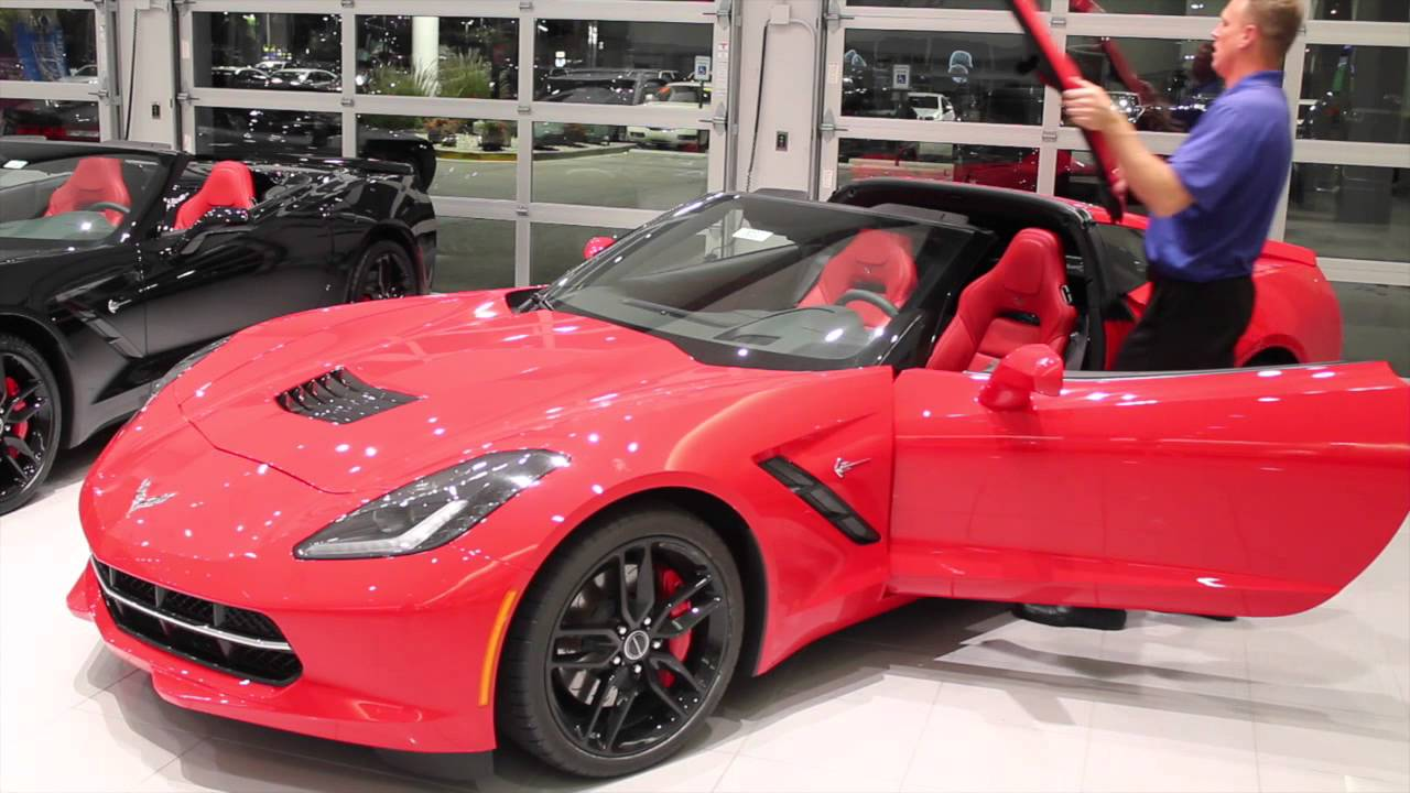 corvette roof stingray chevrolet remove c7 z06 z51 sport panel grand replace bachman chevy