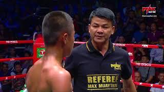 HIGHLIGHT SAKONLEK VS LAOSTAR(LAOS) | MUAY THAI FIGHTER