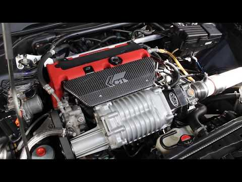 2004 Supercharged Acura TSX Engine Overview